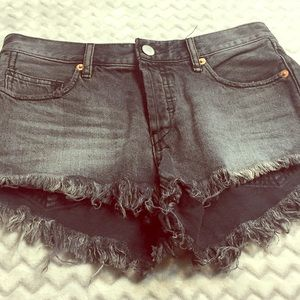 Free People fringe Shorts Sz 24